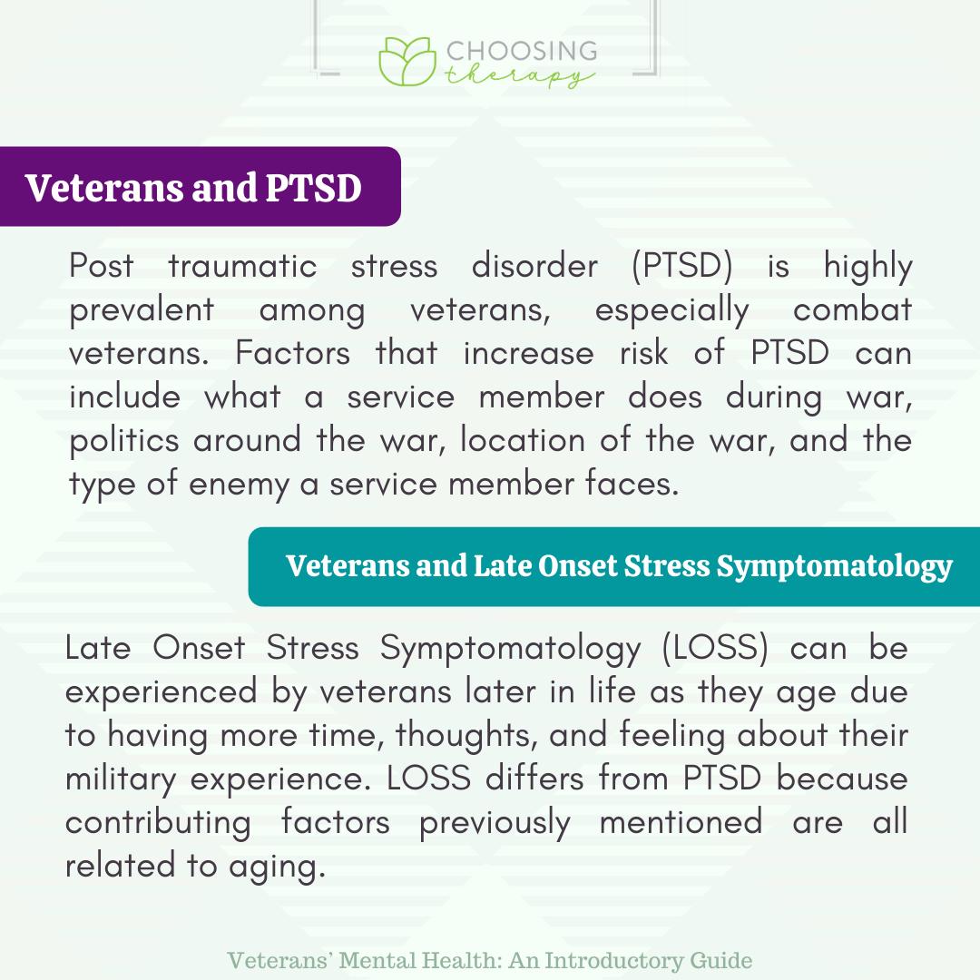 Veterans and PTSD and Late Onset Stress Symptomatology