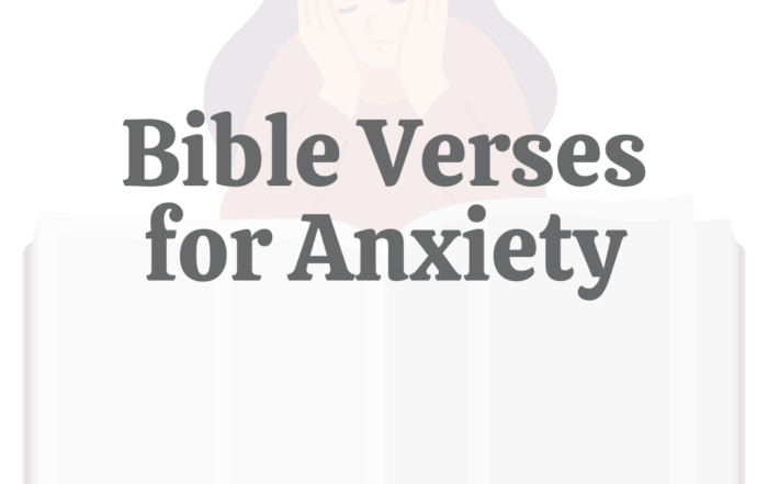 30 Bible Verses for Anxiety